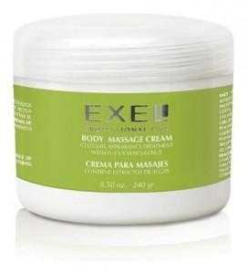 Crema Para Masajes Con Extracto De Algas X 240grs Exel