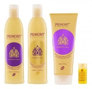 Promo Pack Maroc Oil Primont Shampoo Enjuague Tratamiento