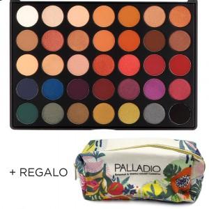 Paleta de Sombras The Ultime Pro Shadow Palladio + Neceser Regalo