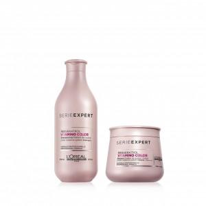 Shampoo + Tratamiento Vitamino Color Chico Loreal