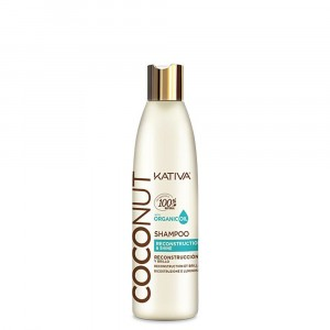 Shampoo Brillo y Reconstrucción Coconut X 250ml Kativa