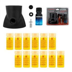 Aplicador De Ampollas + 12 Ampollas Maroc Oil Primont
