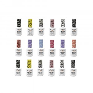 18 Esmaltes Semipermanentes x15ml Anush