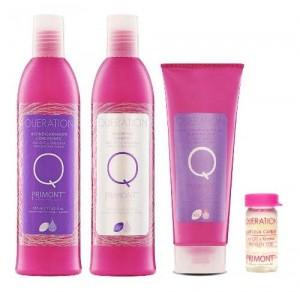 Promo Pack Queration Primont Shampoo Enjuague Tratamien Pelo