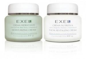 Tratamiento Facial Exel Crema Hidratante Crema Nutritiva