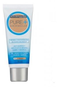 Base De Maquillaje Pure Make Up Plus Maybelline