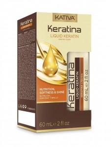 Sérum Nutrición Brillo y Suavidad Keratina X 60ml Kativa