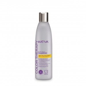 Shampoo Matizador Blue Violet Color Therapy X250ml Kativa