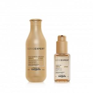 Kit Acondicionador 200ml + Sérum Absolut Repair Gold L'Oréal Professionnel