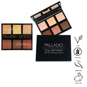 Paleta Contour + Highlight The Definer X18g Palladio